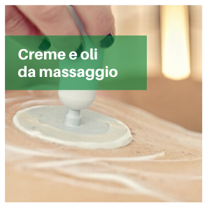 creme e oli massaggio