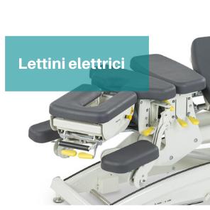 Lettini elettrici studio fisioterapia