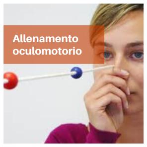 Prodotti allenamento oculomotorio