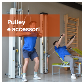 Pulley step met riabilitazione