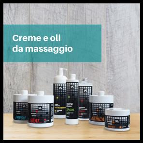 Creme e oli da massaggio prezzo