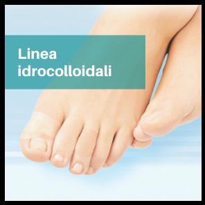 linea idrocolloidale piede