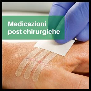 medicazioni post chirurgiche