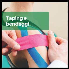 Taping e bendaggi